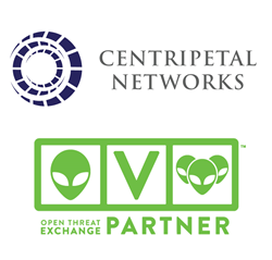 Centripetal Networks Joins AlienVault's OTX Partner Member Program
