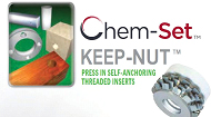 Chem-Set Keep-Nut