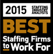 Favorite Staffing - Celebrating Recognition as 2015 Best Staffing Firms to Work For