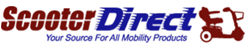 ScooterDirect.com Offering Pride Go Go Traveller Elite 3 Wheel Scooter