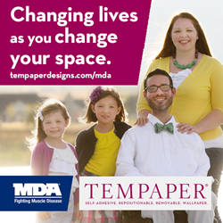 Tempaper and MDA Team up in the Fight Against Muscle Disease