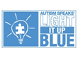 The World Shines Bright Blue Lights to Raise Autism Awareness