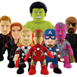 Bleacher Creatures To Launch New Line Of 10-Inch-Tall Plush Marvel...