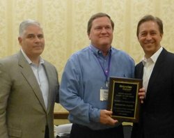 Anniston plant manager receives award on behalf of associates at National Gypsum ceremony
