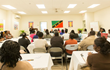 Teachers' workshop on the island of Nevis March 3, 2015, sponsored by UNESCO and Youth for Human Rights International.