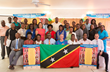 St. Kitts teachers learned to conduct Youth for Human Rights education at a workshop March 4, 2015, sponsored by UNESCO and Youth for Human Rights International.
