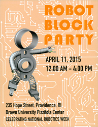 igus will be in attendance at the 2nd annual RI Robot Block Party