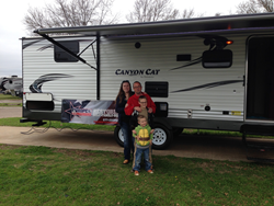 Veteran and Family Granted Camper by Nonprofit