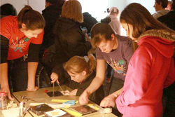 SPIE University of Texas at Austin Student Chapter members helped introduce girls to engineering, in a project funded by SPIE activity grants  in observance of the International Year of Light.