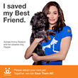 Emmy Rossum is Shameless When it Comes to Helping Shelter Dogs and Cats