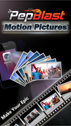PepBlast blends your photos with music and makes awesome movie clips in few minutes.