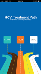 HCV Treatment Path App