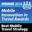 "Silvercar Wins ""Best Mobile Travel Strategy"" 2015"