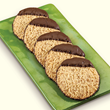 Product of the Year Chocolate-Dipped Hazelnut Cookies