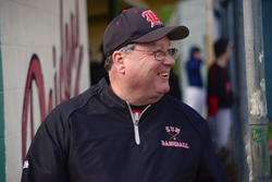 Hun School Varsity Baseball Coach William McQuade celebrates 45 years of coaching.