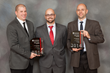 (L-R)  Senior Engineer Jeffrey R. Hill, PE, Project Engineer Dan Weingart, and area Manager Gregory A. Terri, PE of Hayward Baker's St. Louis area office were presented AGC's Keystone Award for 2014.