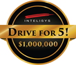 Intelisys Launches $1 Million Prize Incentive Program: Drive for 5!