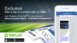 INPLAY, The App For Soccer Fans, Is Offering A Chance to Win A Trip...