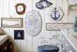 Gallery Wall Featuring Salvaged Seaside Collection