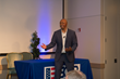 Bestselling author, actor and wounded army veteran, J.R. Martinez spoke to a crowd of approximately 225 guests during the 3rd Annual Power of Inclusion Cenference at Loma Linda University Health