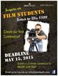 Deadline extended to June 1.