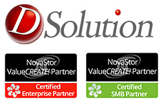 DSolution achieves NovaStor SMB and Enterprise Certification.