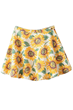 Classic Skirt, Sunflower Skirt, Skater Skirt