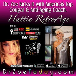 America's Top Cougar Hattie RetroAge on Dr. Zoe Today