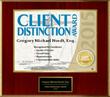 2015 Client Distinction Award for Amerihope Alliance