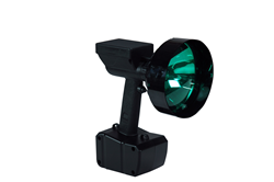 35 Watt HID Handheld Spotlight that produces a 1900' Spot Beam