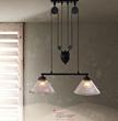 Garnet Industrial Pendant Light 98232 From Zuo Modern