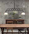 HomeThangs.com Has Introduced A Guide To Big, Bold, Industrial Style Pendant Lights For The Kitchen Island