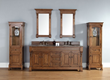Brookfield 72″ Double Vanity Set 147-114-5771 in Country Oak from James Martin Furniture