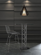 Wire Bar Chair 188015 in Chrome from Zuo Modern