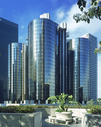 Westin Bonaventure Hotel and Suites in downtown Los Angeles