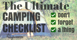 IcyBreeze Camping Checklist