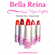"""Bella Reina Splashes The Pink """"V"""" with the Introduction of Vegan Lipstick"""