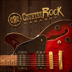 Country Rock Cabaret Logo Guitar