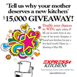 Express Kitchens Giving Away Three $15,000 Complete Kitchens For Mother's Day
