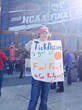 12-year old Hudson attended the Final Four in Indianapolis this past weekend with her dad, Ed Johnson. The Johnsons experienced the trip of a lifetime after aptly predicting Michigan State University