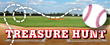 "Fun ""Baseball Treasure Hunt"" for the kids"