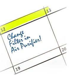 Filter Reminder Program