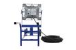Portable Wheelbarrow Style LED Light Cart for Hazardous Locations