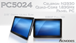 "Acnodes' Launches 24"" 1080P full HD Ultra Slim Multi-Touch Panel PC Features Celeron N2930 Quad-Core 1.83GHz Processor"