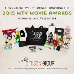 The Artisan Group at GBK's 2015 MTV  Movie Awards Gift Lounge