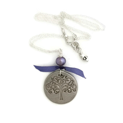 Karmic Serenity Necklace in Lilac as gifted at GBK's 2015 MTV Movie Awards Weekend Gift Lounge.