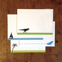 Sampler pack of notecards from Fiona Designs Stationery, as gifted at GBK's 2015 MTV Movie Awards Weekend Gift Lounge.