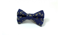 Gold Anchors Removable Dog Bow Tie, as gifted at GBK's 2015 MTV Movie Awards Weekend Gift Lounge