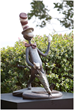Image: Cat In The Hat Bronze Life-Size Sculpture