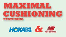 Max Cushion: Hoka One One and New Balance